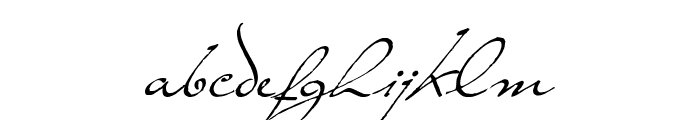 TheLoyalist Font LOWERCASE