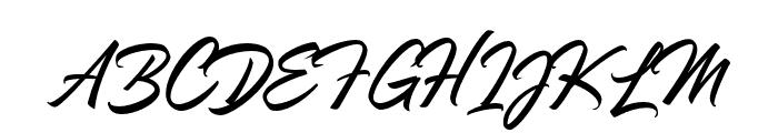 TheLunatique-Regular Font UPPERCASE