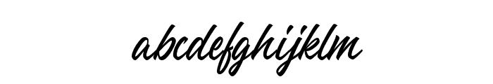 TheLunatique-Regular Font LOWERCASE