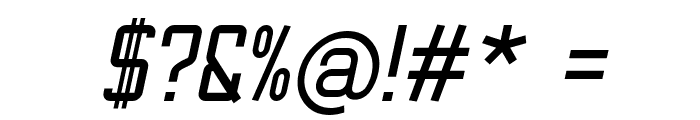 TheMatic Bold Italic Font OTHER CHARS