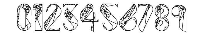 ThePolygonal-ZulEan Font OTHER CHARS