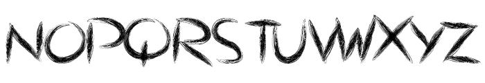 ThePulse Font UPPERCASE