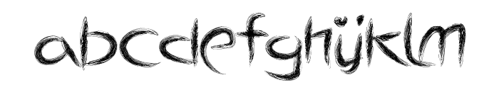 ThePulse Font LOWERCASE