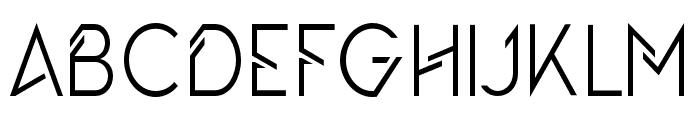 TheQueensGambit-Regular Font UPPERCASE