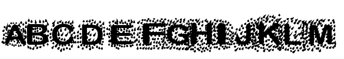 TheRain Font LOWERCASE