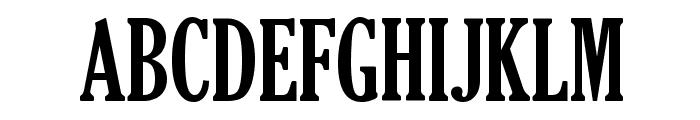 TheReconLegendFont Font UPPERCASE