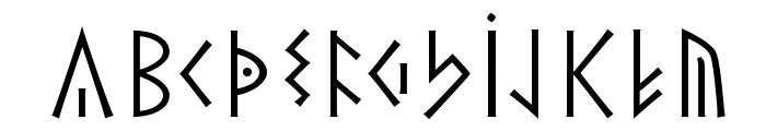 TheRomanRunesAlliance Font LOWERCASE