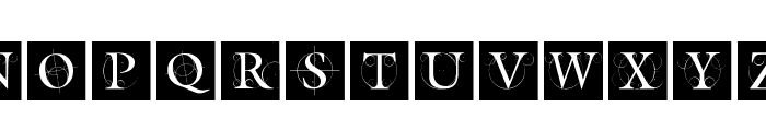TheRoots Font UPPERCASE