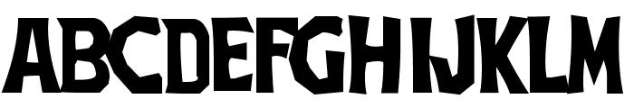 TheThreeStoogesFont Font LOWERCASE