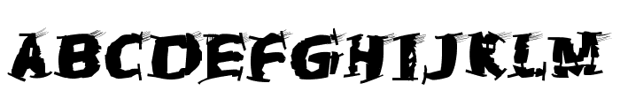 TheTrampsTrash Font LOWERCASE