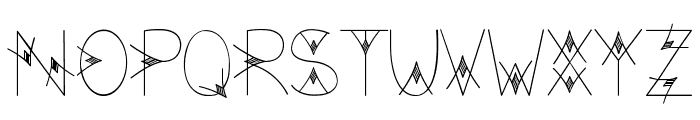 TheValley Font UPPERCASE