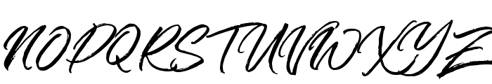 TheZains Font UPPERCASE