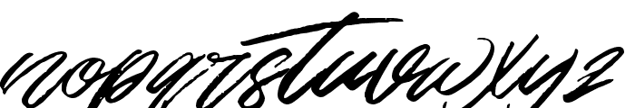 TheZains Font LOWERCASE