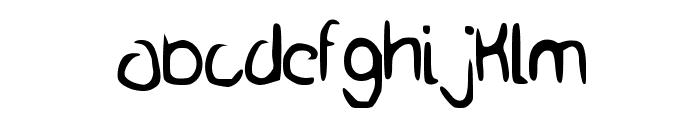The_Average Font LOWERCASE
