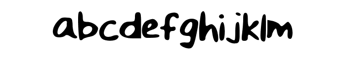 The_Leyna Font LOWERCASE