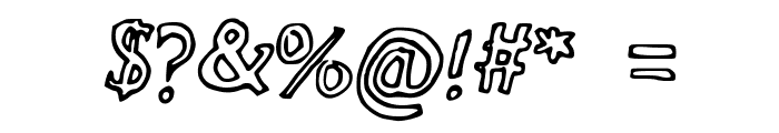 The_Neverlanders Font OTHER CHARS