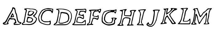 The_Neverlanders Font UPPERCASE