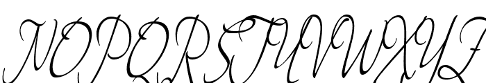 Theage Font UPPERCASE