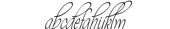 Theage Font LOWERCASE