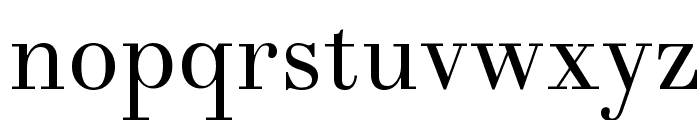 Theano Didot Regular Font LOWERCASE