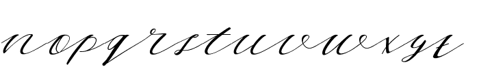 Thelma Font LOWERCASE