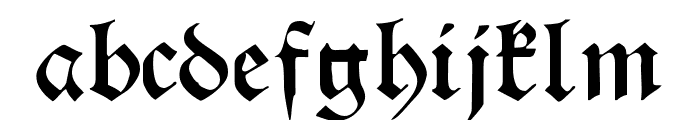Theodoric Font LOWERCASE