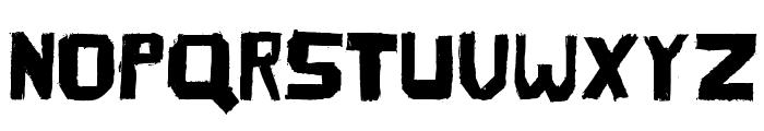 TherezaRegular Font UPPERCASE