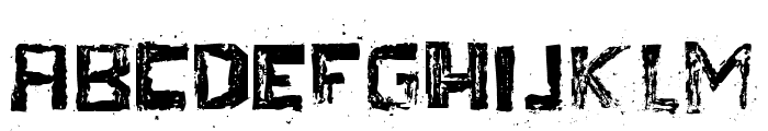TherezaRegular Font LOWERCASE