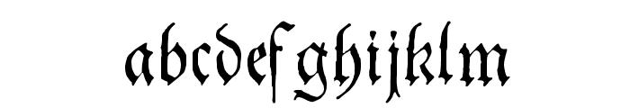 Theuerdank Fraktur Font LOWERCASE