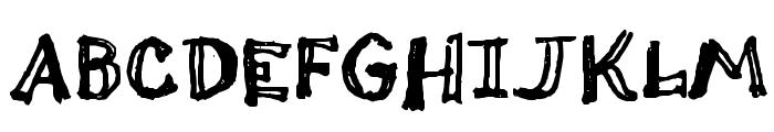Thi Mega Tampon Font UPPERCASE