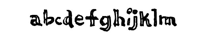 Thi Mega Tampon Font LOWERCASE