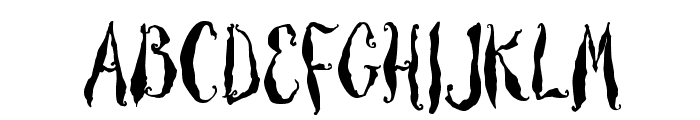Thicket Font UPPERCASE