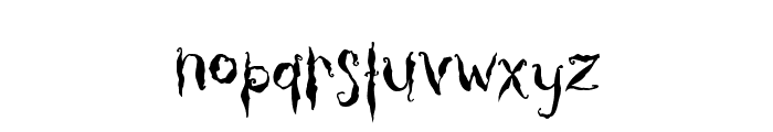 Thicket Font LOWERCASE