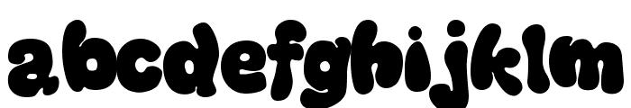 Thickhead Dark Font LOWERCASE