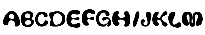 Thickhead Font UPPERCASE