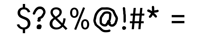 Thin IQ Font OTHER CHARS