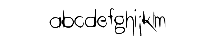 ThinHand Font LOWERCASE