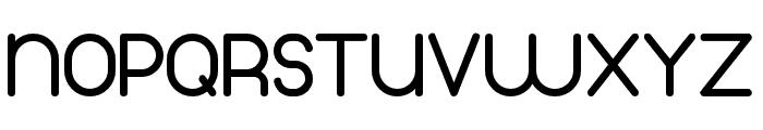 Thinfont-Bold Font UPPERCASE
