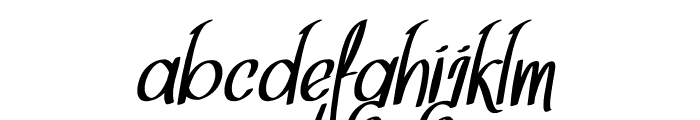 Think Dreams Italic Font LOWERCASE