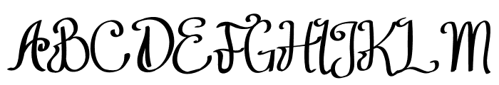 Think Dreams Font UPPERCASE