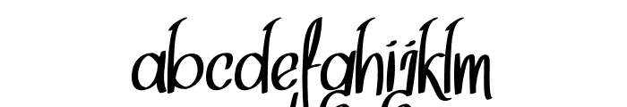 Think Dreams Font LOWERCASE