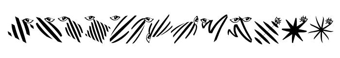 Thinkbats Font LOWERCASE