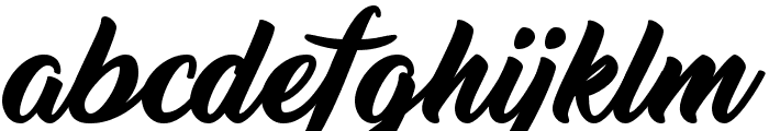 Thinking Of Betty Font LOWERCASE