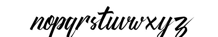 Thipe Typeface Regular DEMO Font LOWERCASE