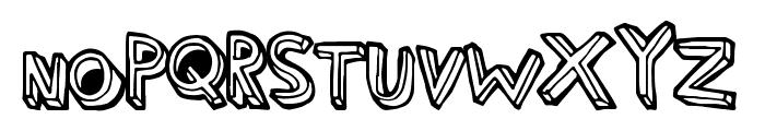 ThirdHand Font LOWERCASE