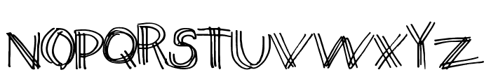 ThirdLeg Font UPPERCASE