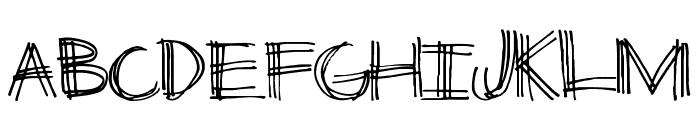 ThirdLeg Font LOWERCASE