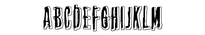 Thirteenth Floor 2 Font UPPERCASE