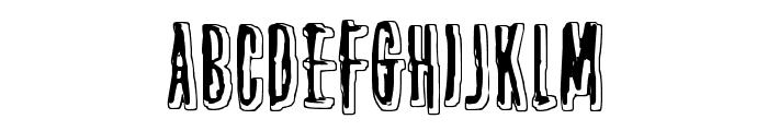 Thirteenth Floor 2 Font LOWERCASE