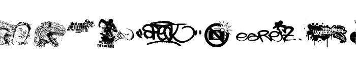 This Is My Town 2 Font LOWERCASE